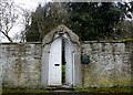 NZ0750 : Garden entrance to Allensford House by Robert Graham