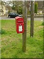 SK9400 : Postbox at Mill Lane, Barrowden, ref LE15 52 by Alan Murray-Rust
