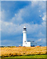 TA2570 : Stormy Skies, Flamborough Lighthouse by Scott Robinson