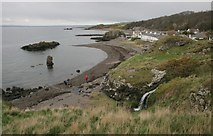NS2515 : The shore at Dunure by Richard Sutcliffe