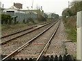 SK9402 : Site of Luffenham Station by Alan Murray-Rust