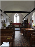 TM1453 : St.Gregory's Church Interior by Adrian Cable