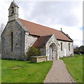 SE5548 : Church of St Nicholas, Askham Bryan by Rich Tea