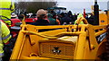 TL4479 : Machinery sale ground by Michael Trolove