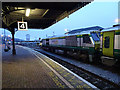 W6872 : A train for Dublin stands in Cork Kent station by John Lucas