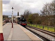 SD8022 : 80080 Pulls Into Rawtenstall by David Dixon