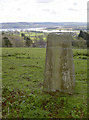 ST5460 : The pillar with a lake view by Neil Owen