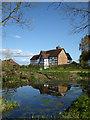 SO9655 : Farmhouse, Church Farm, Grafton Flyford by Chris Allen