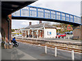 SO0561 : Llandrindod Station Footbridge by David Dixon
