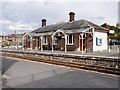 SO0561 : Llandrindod Wells Station Building by David Dixon