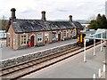 SO0561 : Llandrindod Wells Railway Station by David Dixon