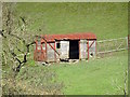 SK1450 : Old railway goods wagon at Thorpe Mill Farm by Ian Calderwood