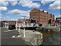 SO8218 : Gloucester Docks - entrance lock by Chris Allen