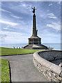 SN5781 : Aberystwyth Town War Memorial by David Dixon