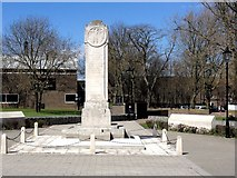 TQ7668 : Gillingham War Memorial by Chris Whippet