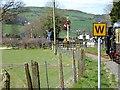 SN6479 : Vale of Rheidol Railway Approaching Capel Bangor by David Dixon