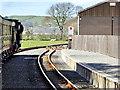 SN6479 : Passing the Modern Train Shed at Capel Bangor by David Dixon