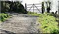 J3179 : Field gate near the Cave Hill, Belfast - April 2016(2) by Albert Bridge
