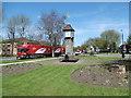 TQ1384 : The clock tower at Northolt by Marathon