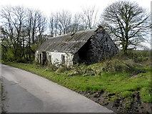H5664 : Ruined farmhouse, Radergan by Kenneth  Allen