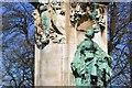 SE2935 : Statue Of Queen Victoria, Woodhouse Lane, Leeds by Mark Stevenson