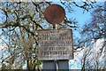 NM9045 : Old road sign, Port Appin by Jim Barton