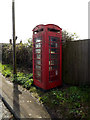 TM1155 : Telephone Box off the A140 Norwich Road by Adrian Cable