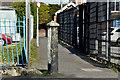 J2969 : Concrete bollard, Finaghy, Belfast (April 2016) by Albert Bridge