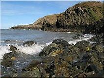 SM9040 : Headlands below Cnwc Degan by Jonathan Wilkins