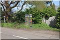 TQ0756 : Phone box, Ockham by Alan Hunt