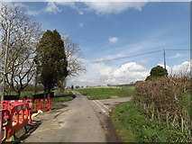 TM0956 : Church Lane, Creeting St.Mary by Adrian Cable