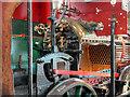 SJ8397 : Steam Locomotive Pender, The Cab by David Dixon