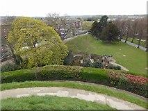 TR1457 : The view from Dane John mound by Steve  Fareham