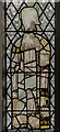 SK8069 : Medieval stained glass window, St Wilfred's church by Julian P Guffogg