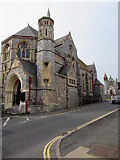 SX9473 : Southeast corner of Teignmouth United Reformed Church, Teignmouth by Jaggery
