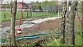 J3673 : New path, Knock River, Belfast (April 2016) by Albert Bridge