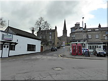SK2168 : View to North Church Street, Bakewell by Jeremy Bolwell