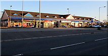 ST3090 : Early morning view of Malpas Road shops, Malpas, Newport by Jaggery