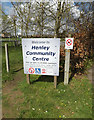 TM1551 : Henley Community Centre sign by Adrian Cable