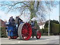 SJ7661 : Tombola the traction engine by Stephen Craven