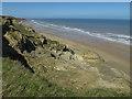 TG2739 : Cliffs near Trimingham by Hugh Venables