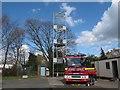 SJ7561 : Modern fire engine by Stephen Craven