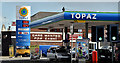 J3673 : Topaz petrol station, Belfast (April 2016) by Albert Bridge