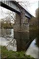 SO0252 : Builth Road railway bridge over the River Wye by Jim Osley