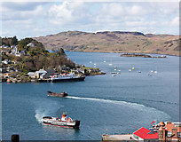 NM8529 : Oban Bay from McCaig's Monument (Folly) - April 2016 by The Carlisle Kid