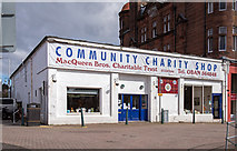NM8530 : The White Building, North Pier, Oban - April 2016 (2) by The Carlisle Kid