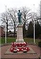 SO0661 : Llandrindod Wells war memorial by Jim Osley