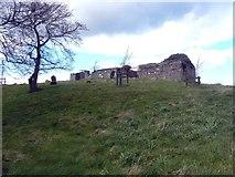 NT9657 : The Ancient Kirk of Lamberton by James Denham