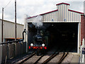 TQ4023 : In the Carriage Shed by Peter Trimming