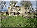 SE0928 : A ruined pair of houses, Queensbury by Humphrey Bolton